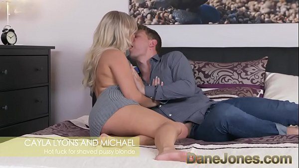 Dane Jones Tanned blonde gets sloppy facefucking and rough doggystyle fuck Thumb