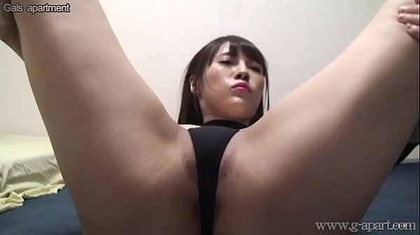 Japanese Girl Umi Hinata Bites G-Strings and Wide Open Legs