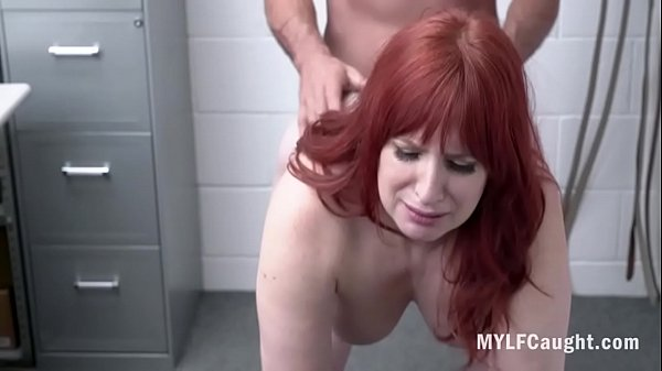 Redhead MILF Caught For Stealing And Fucked By Cop- Amber Dawn