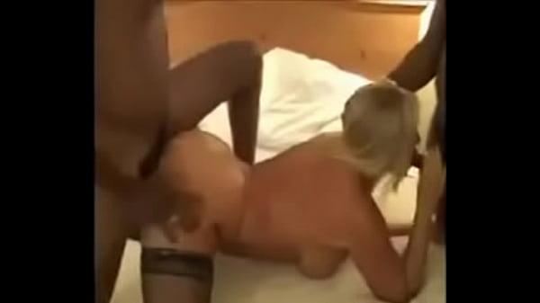 Slut Blonde Gangbang Hd
