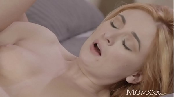 MOM Sexy Russian redhead milf in lingerie and heels loves to fuck