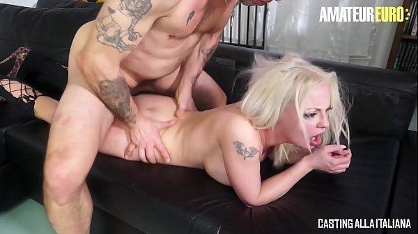 CASTING ALLA ITALIANA - #Alessia Di Pesaro - Hot Italian MILF Babe Brutal Analysed By Omar Galanti's Big Cock