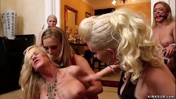Stepmom and daughter are anal fucked