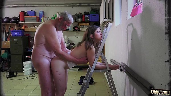 Old Man Abused Teen Big Tits