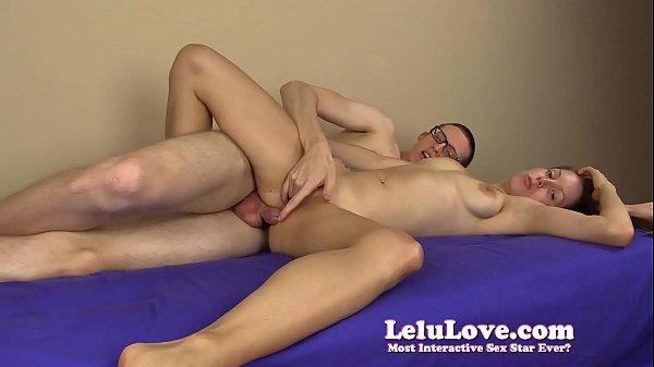 Homemade amateur couple he finger fucks her then creampies her