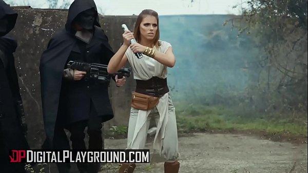 (Adriana Chechik, Xander Corvus, Tony De Sergio, Axel Aces) - Star Wars The Last Temptation A DP XXX Parody Scene 3 - Digital Playground
