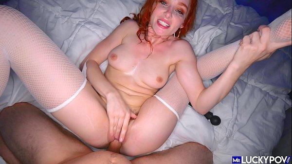 Extreme Redhead Lacy Lennon Fucked Senseless