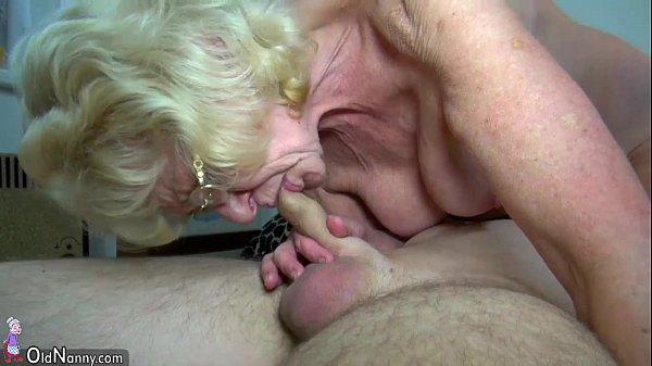 OldNanny Skinny old grannies and young pretty girls is masturbating Thumb