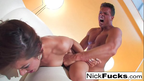 Nick fucks a hot brunette