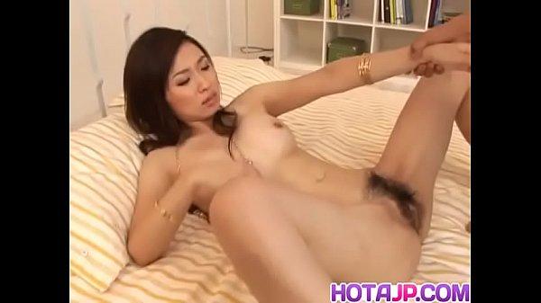 Maaya Kurihara Asian milf has pussy spread wide...