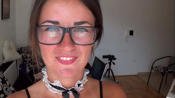 Camilla Moon - sperm on my face and glasses