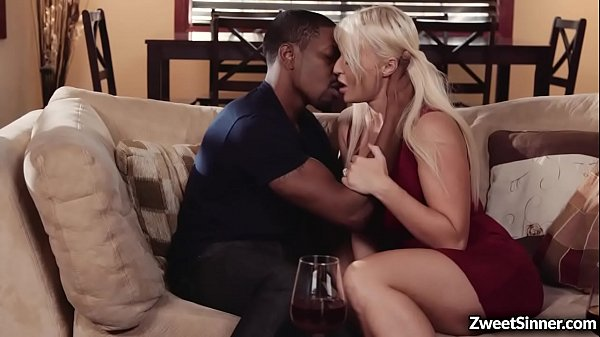Busty MILF London Rivers met this black stud Isiah Maxwell and did not expect that he will worships her like a goddess before fucking her pussy.
