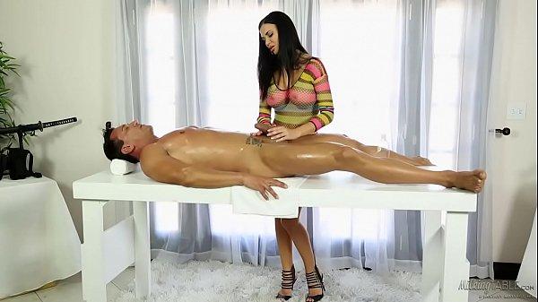Jasmine Jae helps on a sad husband