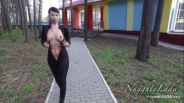 Walking around in my black outfit