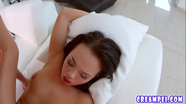 Cutie Tricia Teen takes a big creampie in her pussy Thumb