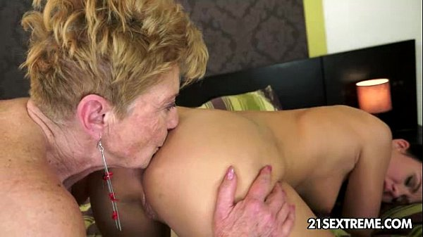 Denise Sky and Malya Old Young Lesbian Love