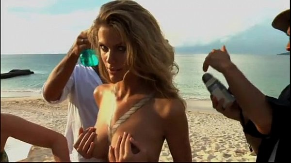 Nude body painting brooklyn decker Thumb