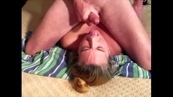Keeping her throat lubed