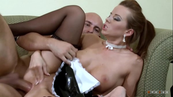 Hot and Horny Maid gets Fucked in Both Holes by the Owner
