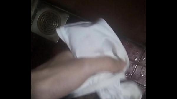 Masturbation with girl neighbor's underwear Thumb