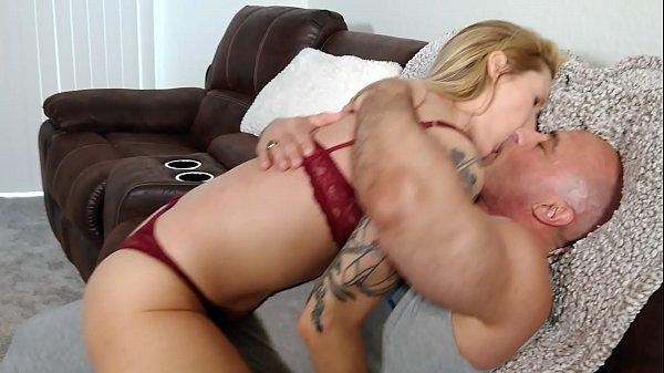 Reagan Lush licks and kisses Tony