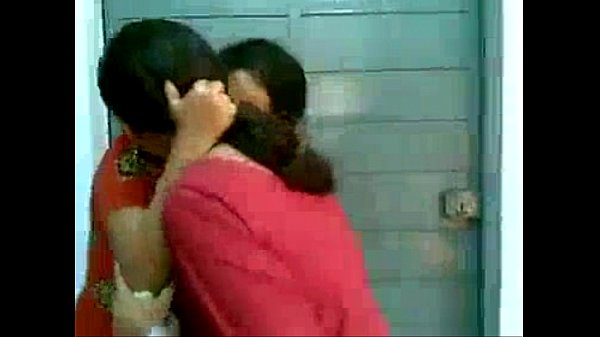 College girls playing in hostel