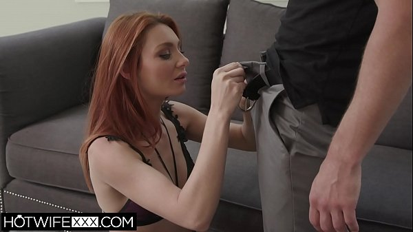 Husband Watches Redhead Shared Wife Lacy Fuck And Deepthroat