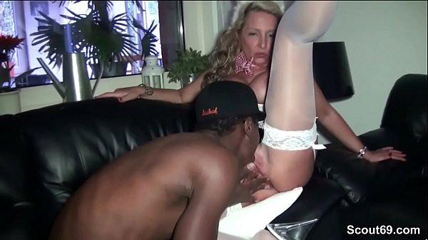 Wife Takes 2 Black Cocks