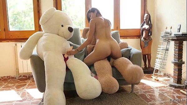 Knee coleslaw riding her teddy bear porn galery
