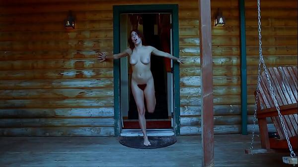 b. b. Bible Camp:  Sexy Nude Brunette Sex Running Thumb