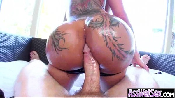 Anal Sex On Camera With Big Butt Curvy Oiled Girl (bella bellz) clip-05