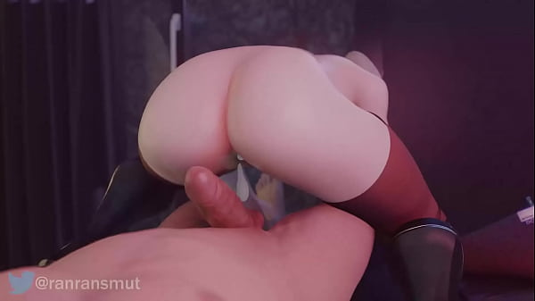 Overwatch Fucking Mercy and cumming inside