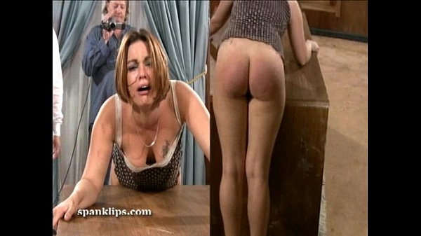 Upset bruntte is taken a serious spanking