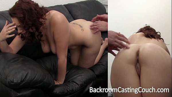 Big Tit Amateur Painful First Anal on Casting C...