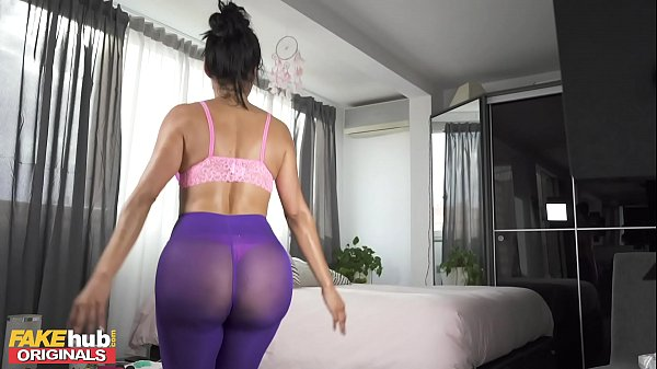 FAKEhub Sexy Lockdown Workout with Big Tits Can...