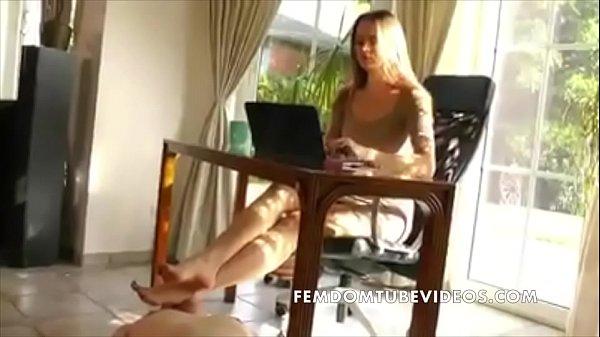 Smelling Goddess Iveta's feet