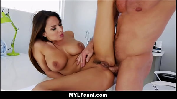 Natural Big Tits French MILF Anissa Kate Anal F...