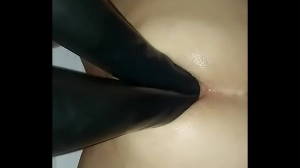 My Mistress Double Fisting me in Latex Gloves