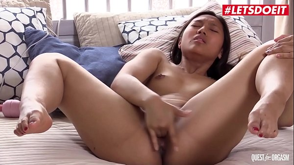 LETSDOEIT - #May Thai - Petite Cute Asian Teen Plays With Toys In Front Of Her Fans