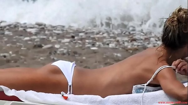 Fine Blonde Granny Sunbathing, Free Bikini HD Porn 9f