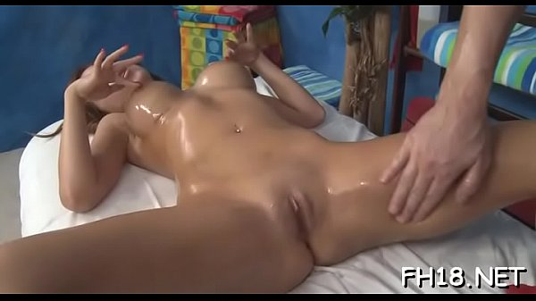 Longhaired chick kneels and sucks penis of impr...