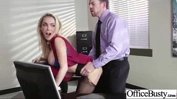 Hard Sex In Office With Big Round Tits Horny Girl (devon) vid-14