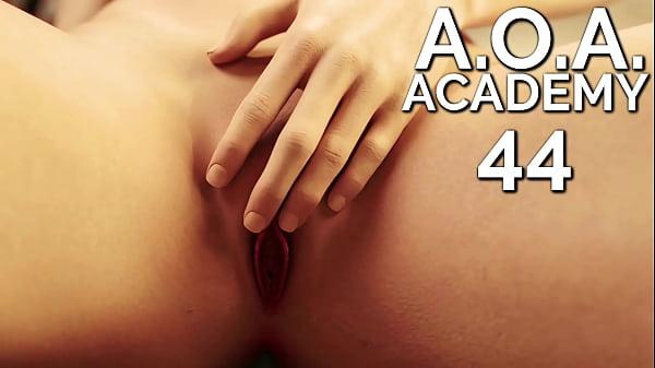 A.O.A. Academy #44 • Hot teacher fingers herself