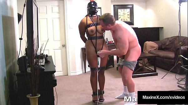 Big Titty Cambodian Cougar Maxine X Gets Tied Up & Banged From Behind!
