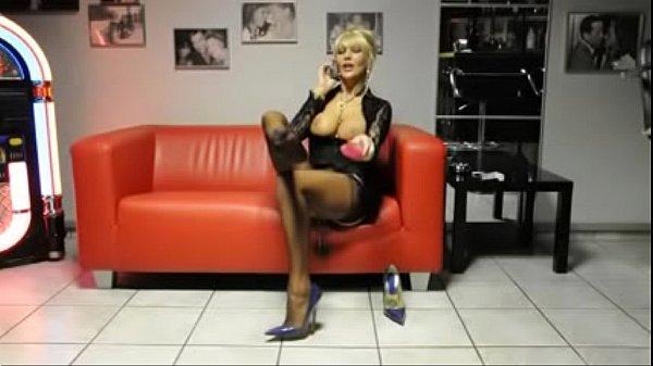 Best Mom Mistress POV Phone Heels Stockings. See pt2 at goddessheelsonline.co.uk