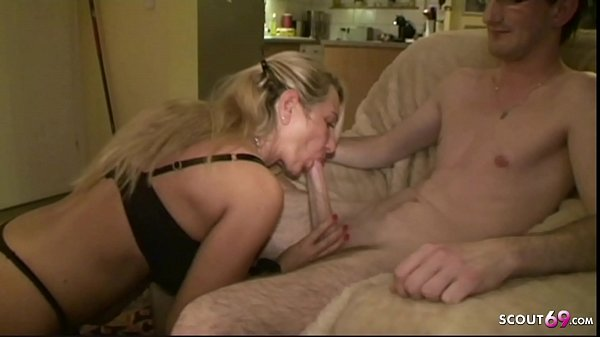 German Stepmom Fuck the new Young Boyfriend of ...
