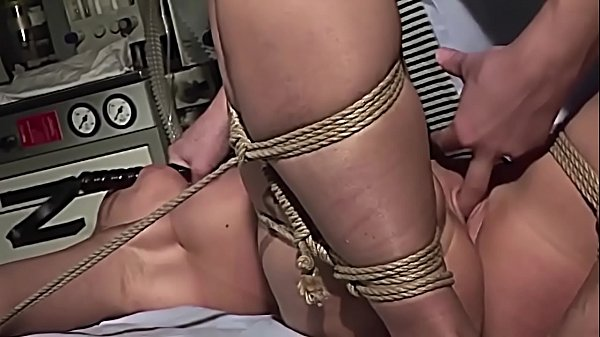 Kinky therapies for slaves serial. Part 3: Cindy White gets fuck in tight ropes.