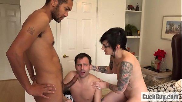 Nikki turns her husband into a little cuckold b...