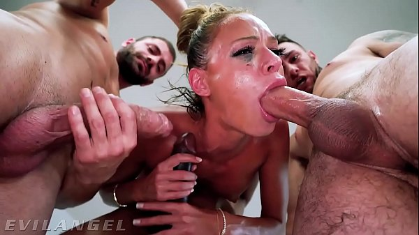 EvilAngel - Emma Hix' First Blowbang