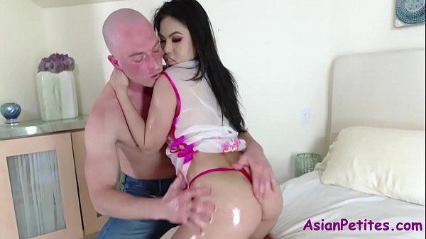 Oiled And Fucked- Asian Sluts- Cindy Starfall